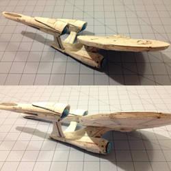 USS Enterprise Build pt.4 by sgtgarand
