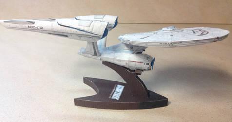 USS Enterprise Build Final by sgtgarand