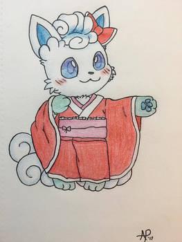 Alolan Vulpix Kimono