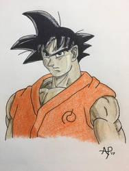 Goku by sgtgarand