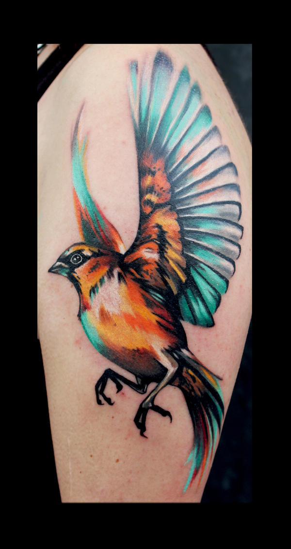 Bird #1 by tiggytuppence