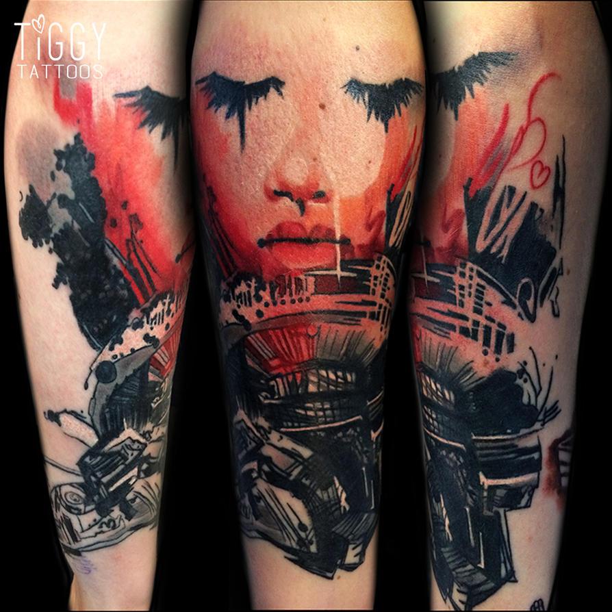 Portal2 Tattoo by tiggytattoos