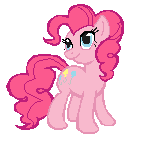Pinkie Pie Sprite by Rabbitasaur