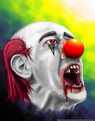 Clown 1 by CompleteInsanity