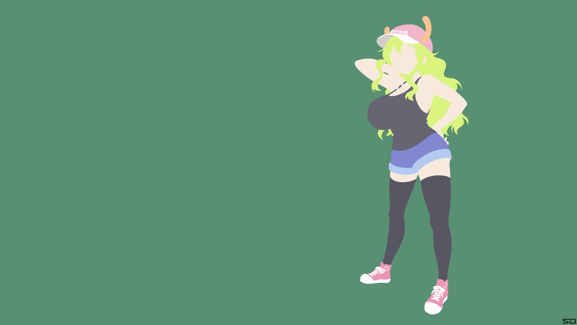 Lucoa Miss Kobayashi S Dragon Maid By Selflessdevotions On