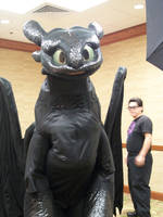 A-Kon 22: Toothless by Manic-Melody