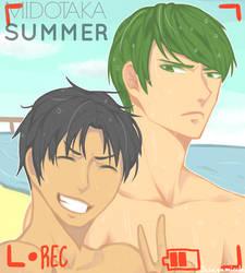 MIDOTAKA - SUMMER by Micchi-Draws