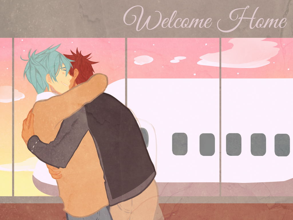 Welcome Home by HoneyToast123