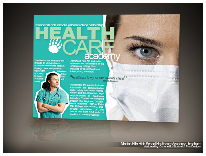 MHHS Healthcare Brochure by stuckwithpins