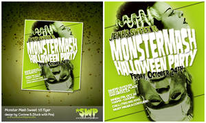 MonsterMash Sweet 16 flyer