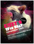 Flyer: Kitty's 17th B-Day