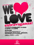 Flyer: We Heart Love