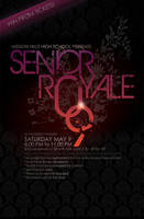 Flyer: Senior Royale by stuckwithpins