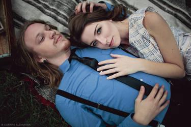 Blake and Megan Engagement 03 by stuckwithpins