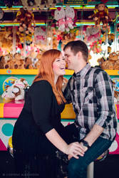 Hollyanne and Chris Engagement 01 by stuckwithpins