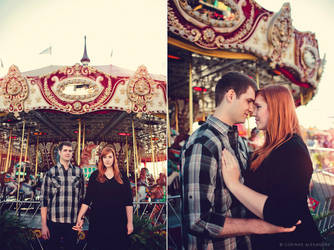 Hollyanne and Chris Engagement 05 by stuckwithpins