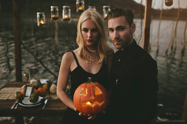Til Death Do Us Part - Halloween Bridal 03 by stuckwithpins