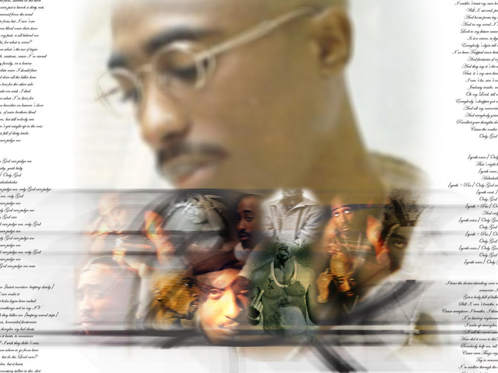 Many Faces of 2Pac by xplicitray