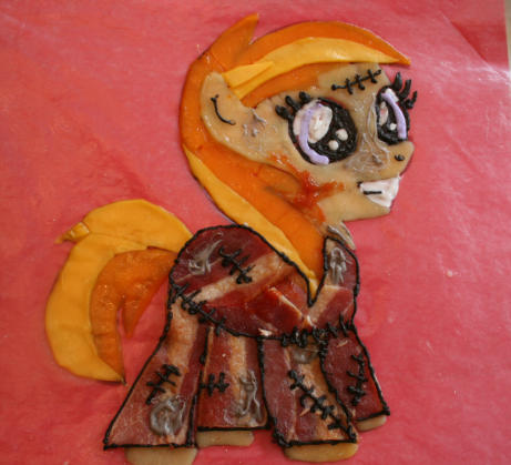 Zombie Bacon Pony (Noi) by SoarinPie