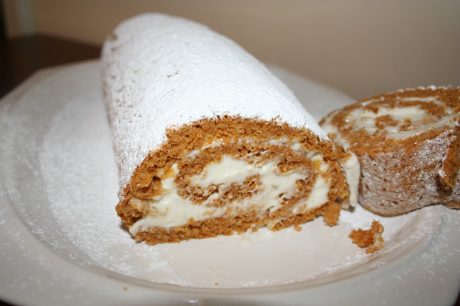 Ginger Pumpkin Roulade by SoarinPie