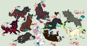 Nordic Color Palette Adopts -CLOSED-