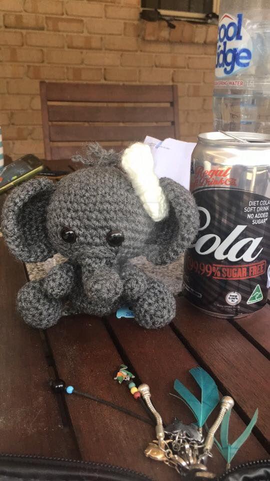 Little Elephant Plush by MzHunni