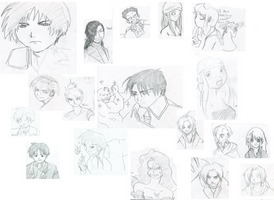 FMA sketches by FalseDeityComic