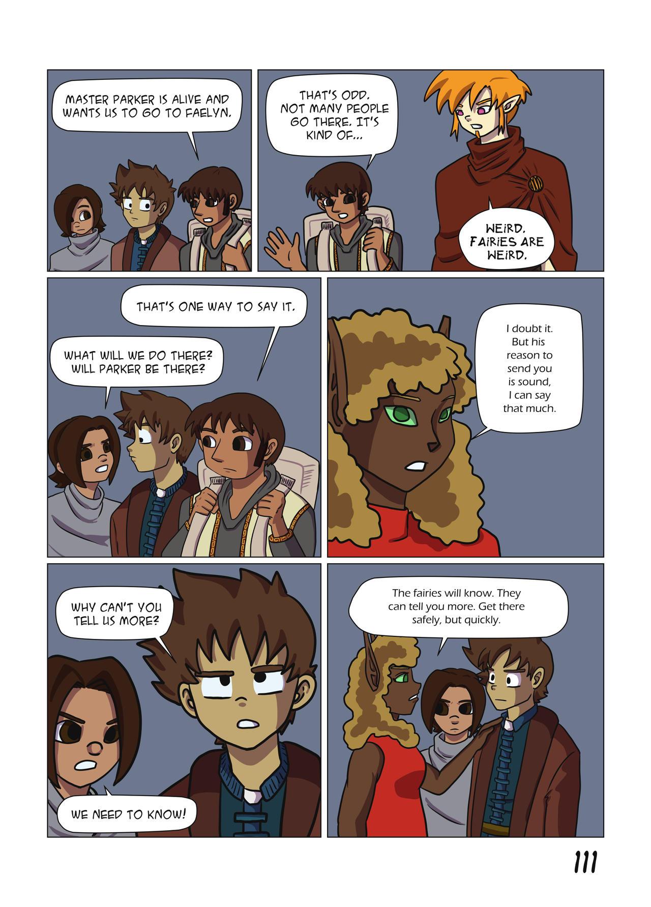 False Deity Chapter 4 page 111
