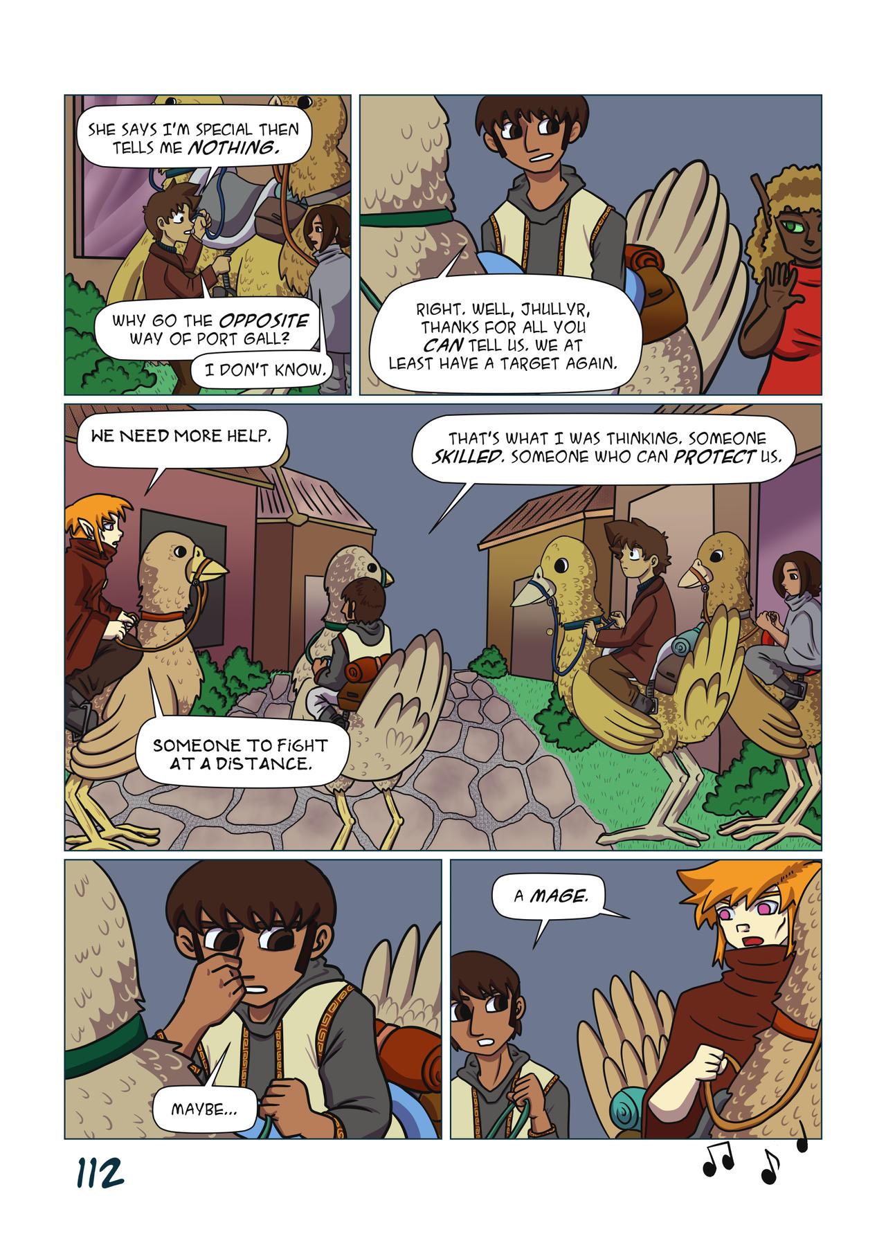 False Deity Chapter 4 page 112