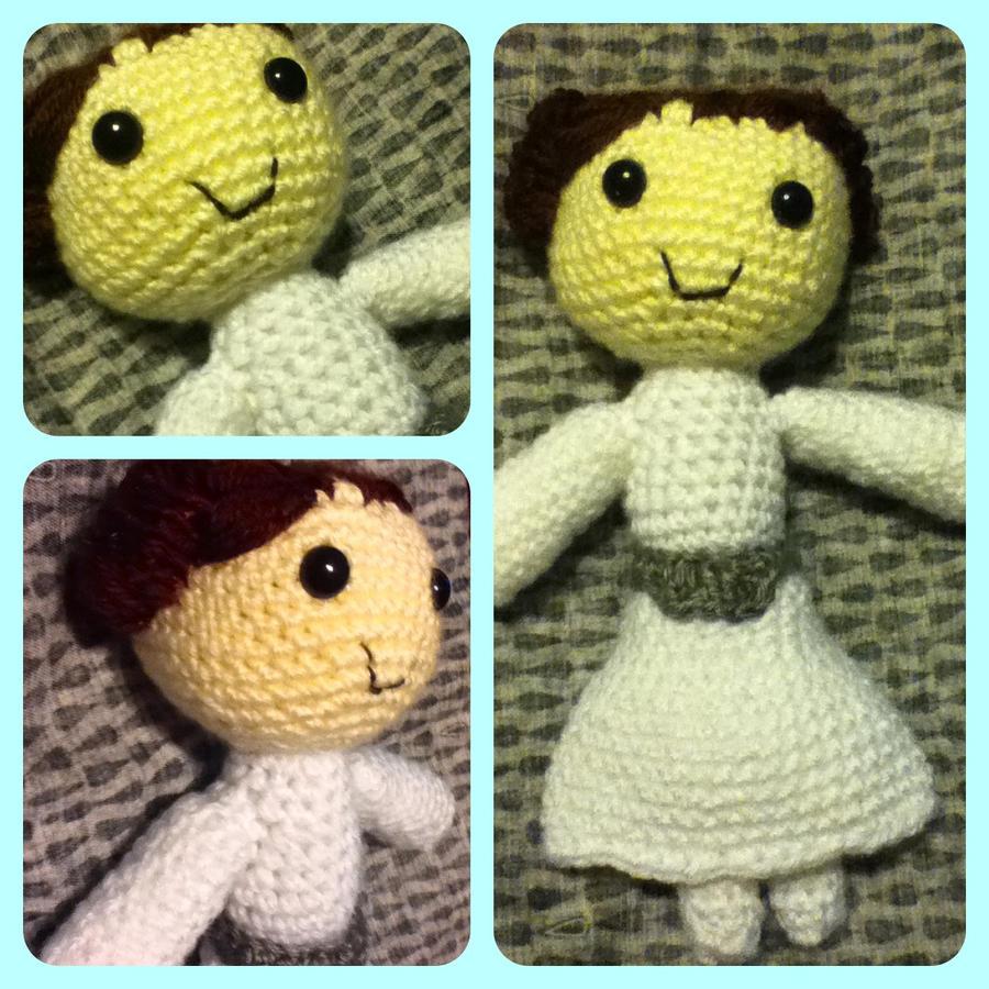 Princess Leia Plush Amigurumi Doll - Star Wars by magpie89 ...