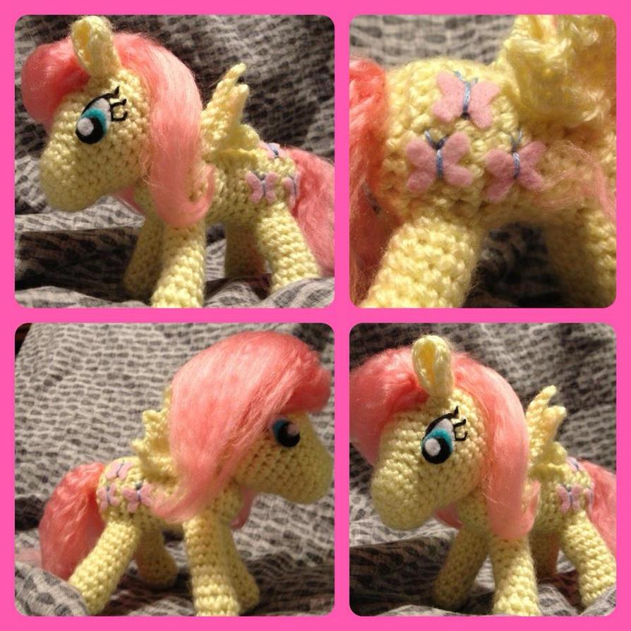 Amigurumi Ponytail : My little Pony Fluttershy plush amigurumi - FiM by ...