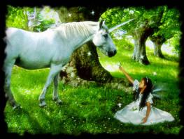 Unicorn and Fae by kimber-shd