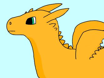 Gold Dragon by Animalgaming911