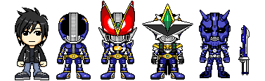 KR New Den-o Forms by YuusukeOnodera