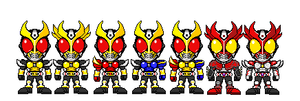KR Agito Forms by YuusukeOnodera