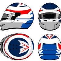 Kimi 'Iceman' Raikkonen Helmet 3