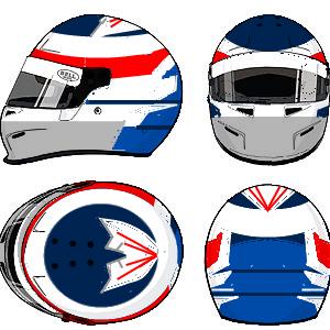 Kimi 'Iceman' Raikkonen Helmet 3 by YuusukeOnodera