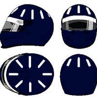 Damon Hill Helmet 1