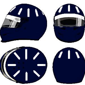 Damon Hill Helmet 1 by YuusukeOnodera