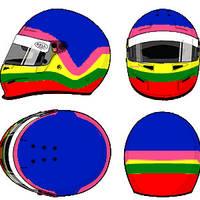 Jacques Villeneuve Helmet