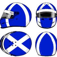 David Coulthard Helmet 1