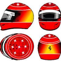 Michael Schumacher  Helmet 4