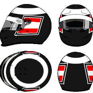 Gerhard Berger helmet 2 by YuusukeOnodera