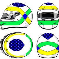 Giancarlo Fisichella helmet