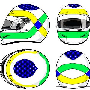 Giancarlo Fisichella helmet by YuusukeOnodera