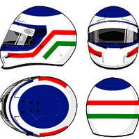 Jarno Trulli helmet 1