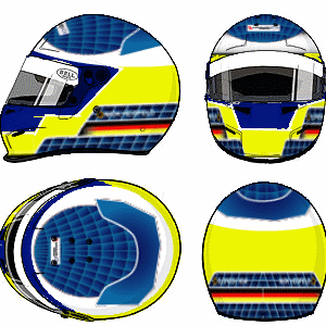 Nick Heidfeld Helmet by YuusukeOnodera
