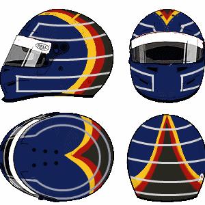 Heinz-Harald Frentzen Helmet by YuusukeOnodera