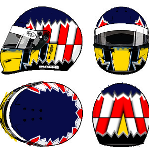 Alexander Wurz Helmet by YuusukeOnodera