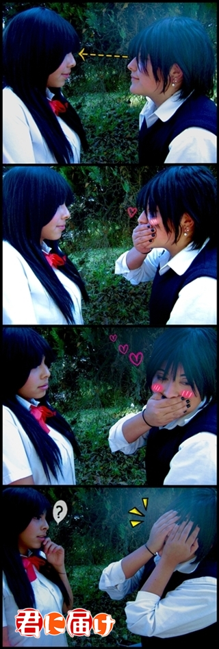 I LOVE You Sawako by FanychanCosplay